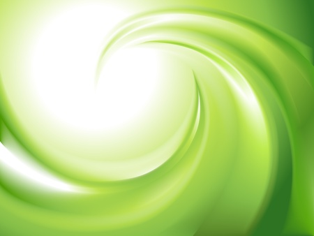 Photo for Abstract green swirl  no mesh  - Royalty Free Image