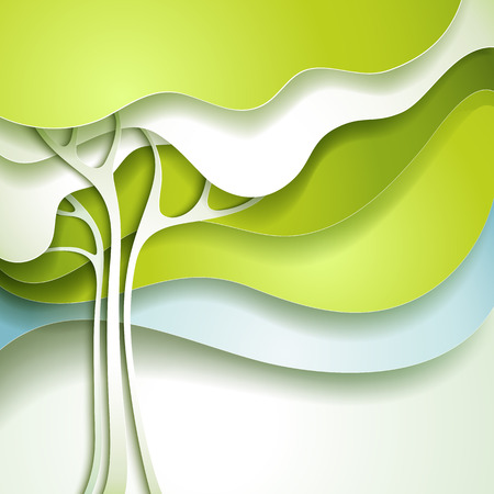 Illustration for Abstract spring tree - Royalty Free Image