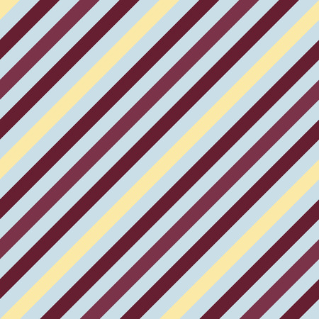 Seamless geometric pattern. Stripy texture for neck tie. Diagonal contrast strips on background. Brown, vinous, beige, gray colors. Vector