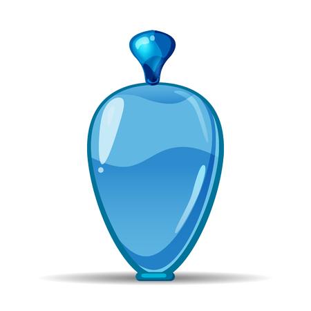 Perfume bottls icon vector illustration. Eau de parfum. Eau de toilette. cologne, toilet water, care of the body, beauty, vector, isolated, cartoon style