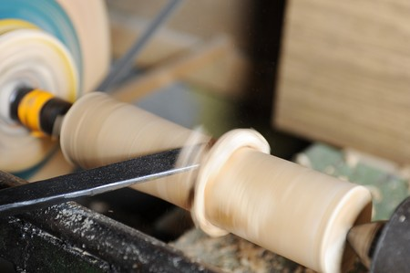 Product manufacturing on the lathe