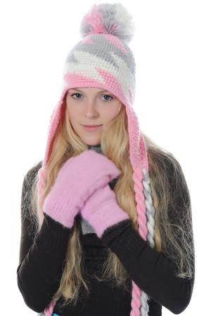 woman in winter style