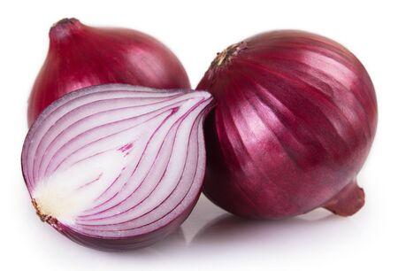 Foto für fresh onion isolated on white background - Lizenzfreies Bild