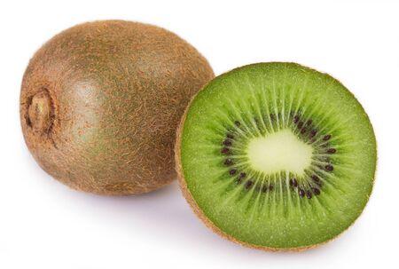 Photo for fresh kiwi isolated on white background - Royalty Free Image