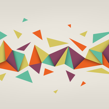 Foto de Vector background. Illustration of abstract texture with triangles. Pattern design for banner, poster, flyer. - Imagen libre de derechos