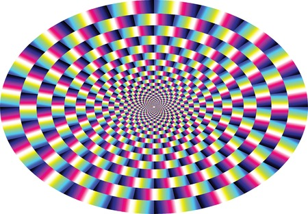 vector optical illusion