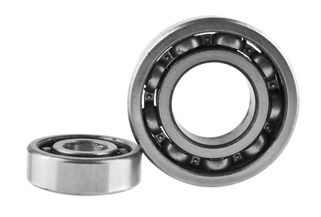Photo pour bearings isolated on white background - image libre de droit
