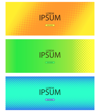 Ilustración de Abstract halftone pattern with lending and social network covers. Vector illustration - Imagen libre de derechos