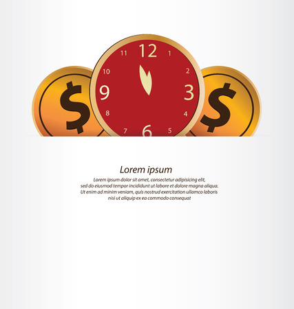 Financial and business concept. vector illustration.