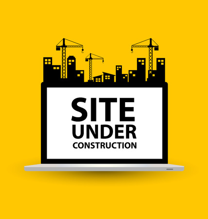 Illustration for under construction background vector illustration - Royalty Free Image