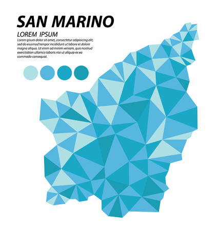 San Marino geometric concept design