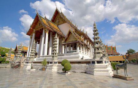 Wat Suthat Thep Wararam, Bangkok, Thailand