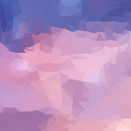 Abstract vector triangular polygonal background