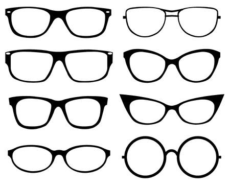 Set of eyeglasses