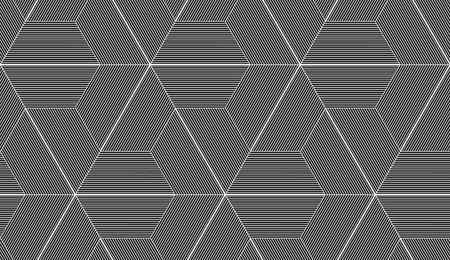 Ilustración de Abstract repeating classical background in black and white - Imagen libre de derechos