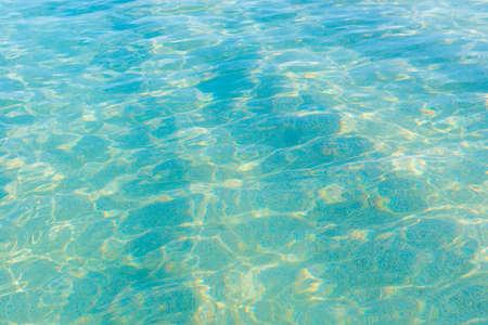 Foto de Blue sea water background texture for nature blue background - Imagen libre de derechos
