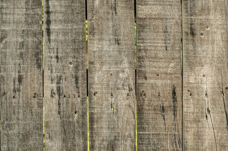 Photo pour Old weathered wooden boards surface closeup as grunge background - image libre de droit
