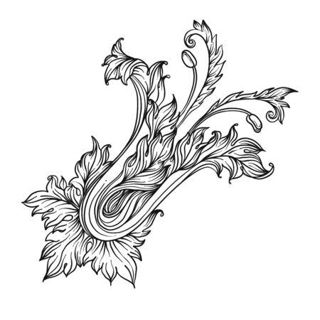 Illustration for Vintage design elements set. - Royalty Free Image