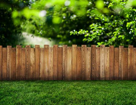 Foto de garden fence - Imagen libre de derechos