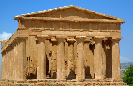 Temple of Concordia in Agrigento  Sicily, Italy