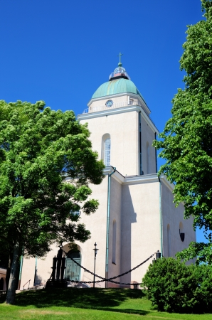 Church in Suomenlinna  Sveaborg   Helsinki, Finland