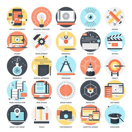 Ilustración de Creative Process - Imagen libre de derechos