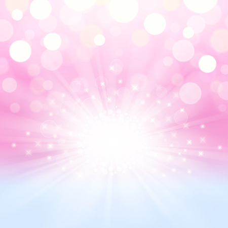 Illustration for Abstract shining and glowing background in pink-blue colors - Royalty Free Image