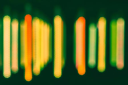 Photo for Abstract and blurry background with bright colors. Blur abstract colorful light background, used for web design and visualization of music. - Royalty Free Image