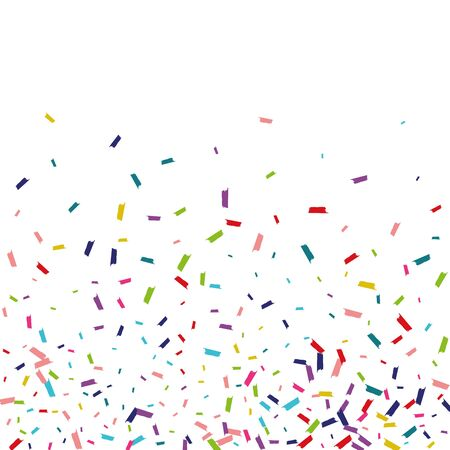 Illustration for Rainbow Happy Round Wallpaper. Dust Banner. Splash Happy Invitation. Rainbow Happy Background. - Royalty Free Image
