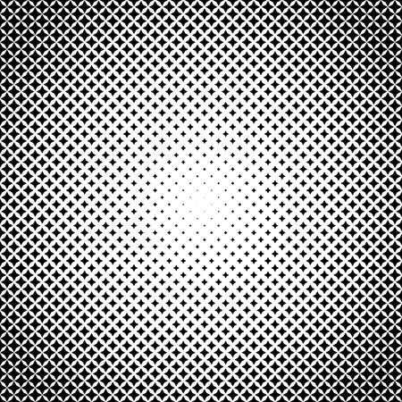 Illustration for Halftone illustrator. Halftone Stars. 4 points. Halftone effect. Halftone pattern. Vector halftone stars. Stars on white background. Vector Halftone Texture. - Royalty Free Image
