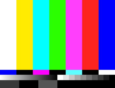 Ilustración de TV no signal background illustration. No signal television screen graphic broadcast design. - Imagen libre de derechos