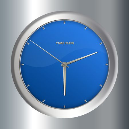 Concept image - Clock with