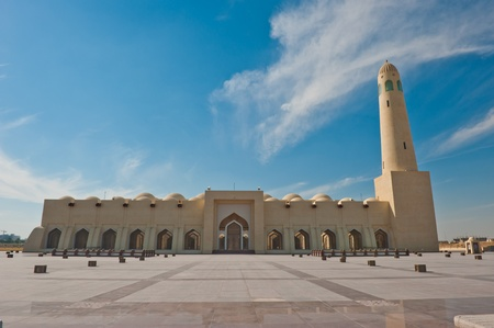 The state mosque in Doha, Qatar.