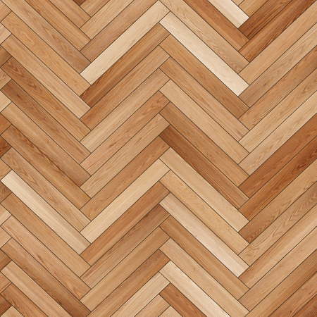 Photo pour Seamless wood parquet texture (herringbone sand color) - image libre de droit