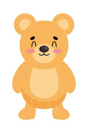 Illustration for cute bear design - Royalty Free Image