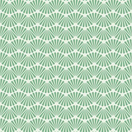Ilustración de Seamless Art Deco Pattern Texture Wallpaper Background - Imagen libre de derechos