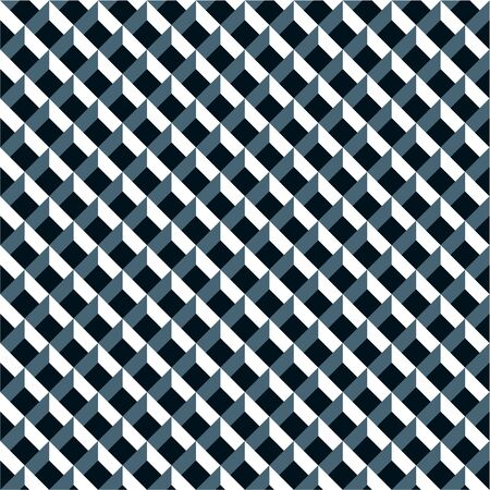 Seamless 3d grid pattern background