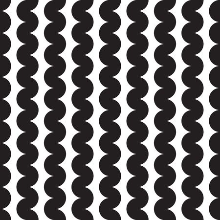 Seamless abstract squiggle wave pattern background