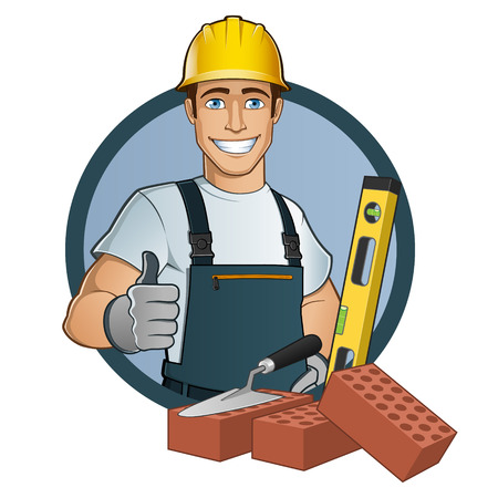 Man with different tools