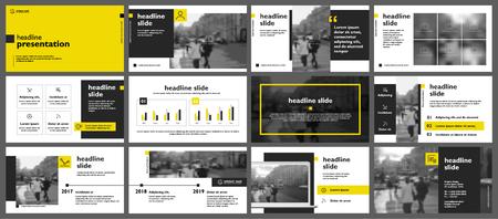Ilustración de Presentation templates Vector infographics. Use in Presentation flyer and leaflet - Imagen libre de derechos
