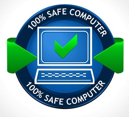Safe PC Badge