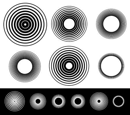 Illustration pour Circles - image libre de droit
