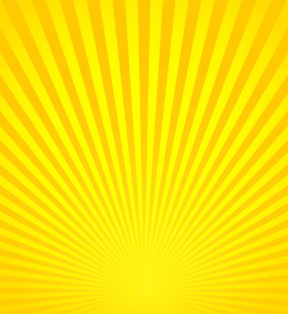 Vector Illustration of Rays, Beams, Sunburst, Starburst Background