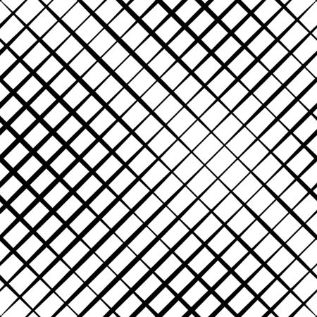 Skew, diagonal, oblique lines grid, mesh.Cellular, interlace background. Interlock, intersect traverse fractal lines.Dynamic bisect stripes abstract geometric pattern.Grating, trellis, lattice texture