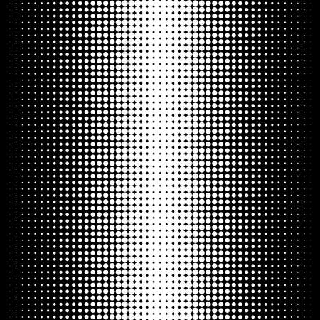 Illustration pour Dots abstract circles background, circles pattern. Halftone specks, stipple and stippling vector illustration. Screentone polka-dots, speckles pointillism, pointillist vertical design - image libre de droit