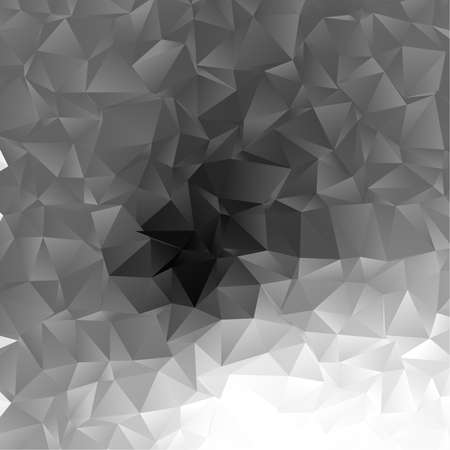 Illustration for Low poly triangular, triangles vector background. Shatter, crumple effect. Chaotic glass pane - Royalty Free Image