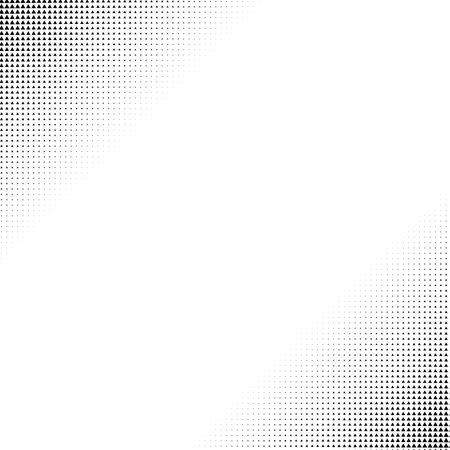 Illustration pour Triangles halftone vector illustration. Triangle geometric background texture and pattern - image libre de droit