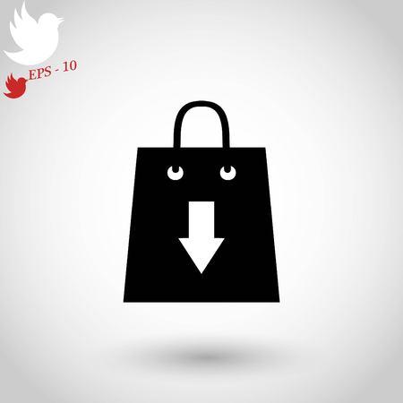 Download icon vector.