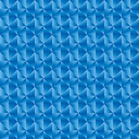Illustration pour Geomatric triangle blue pattern vector illustration background - image libre de droit