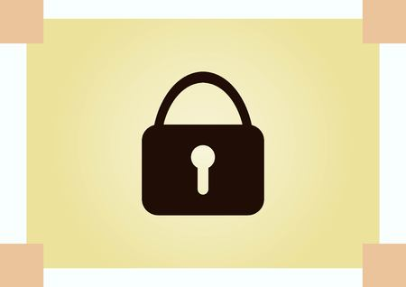 Lock, safety, security icon